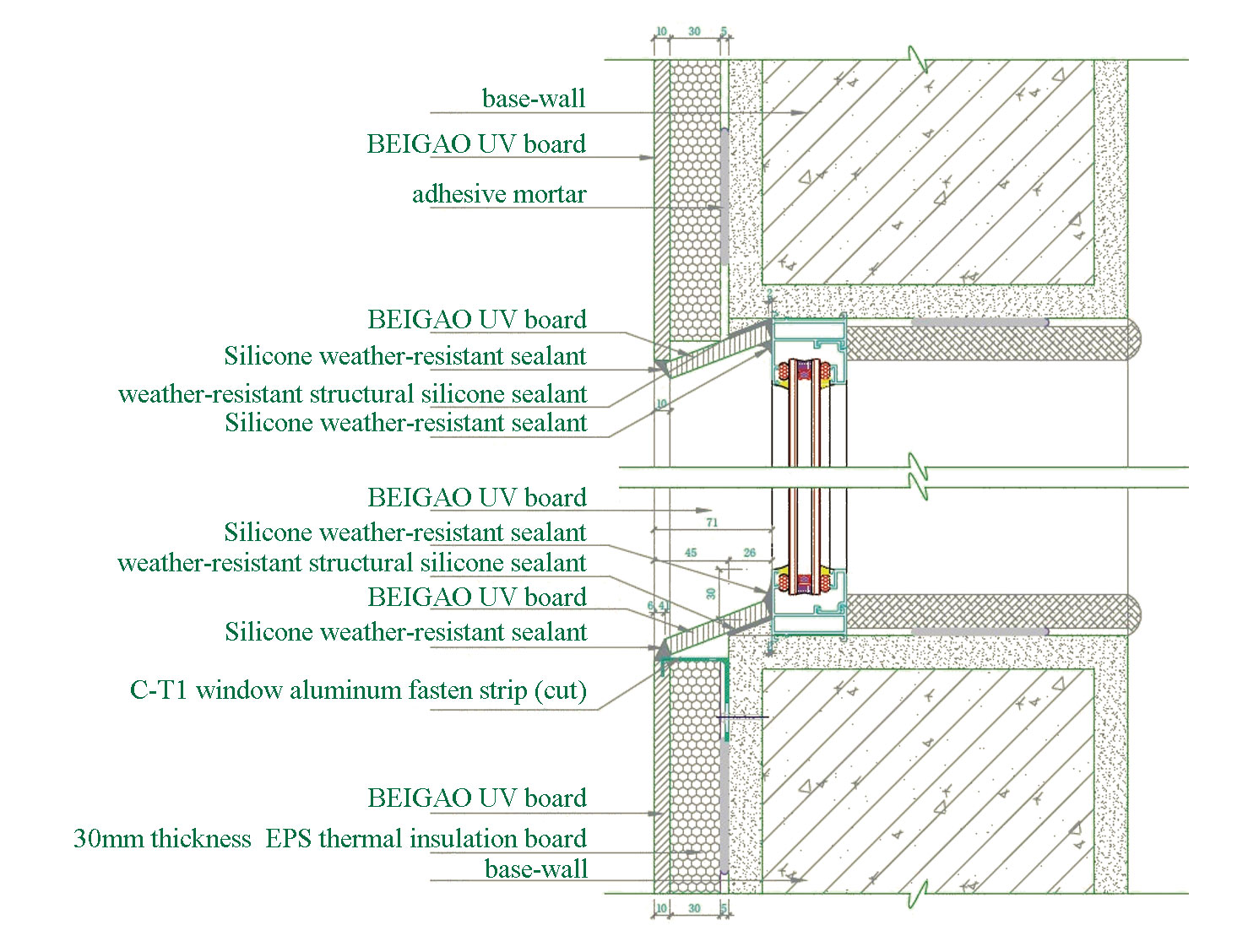 Curtain wall cladding installations_Product introduction_BeiGao ...
